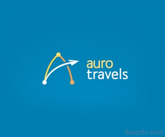 AURO旅行标志设计