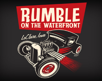 汽车展LOGO Rumble on the Water