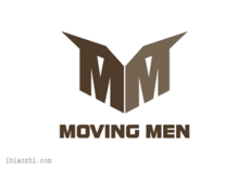 moving men标志LOGO