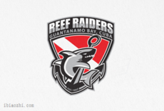 REEF RAIDERS标志LOGO