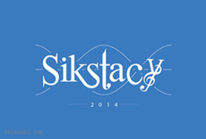 Sikstacy字体LOGO