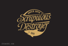 Scrupulous Destroyer标志LOGO