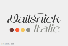 Vailsnick字体LOGO