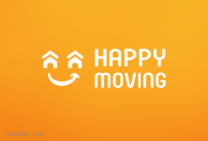 HAPPY MOVING标志LOGO