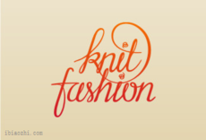 KnitFashion字体LOGO