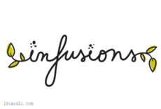 Infusions字体LOGO