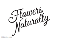 FlowersNaturally字体LOGO