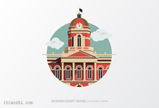 GoshenCourthouse标志LOGO