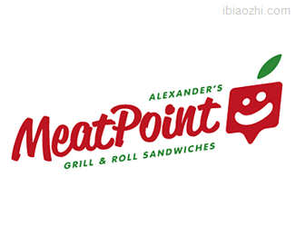 MeatPoint标志设计